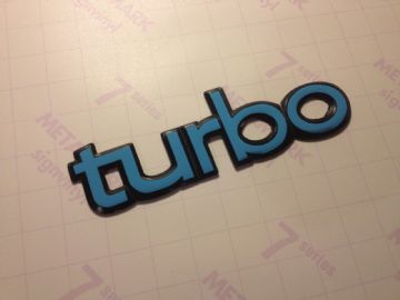3x saab 900 Turbo badge restoration stickers